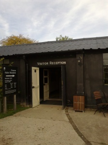 National Trust visitor reception to Croome, in a former RAF Defford building