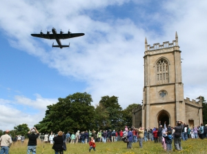 Croome Lancaster flyover