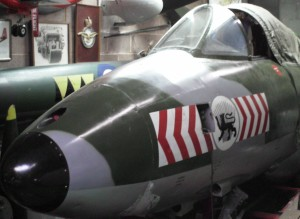 Hunter XF383 cockpit