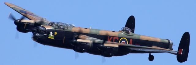Lancaster (photo courtesy RAF BBMF)