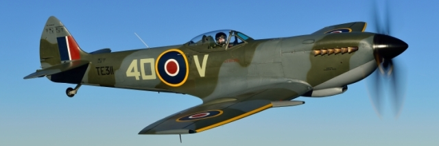 Spitfire (photo courtesy RAF BBMF)