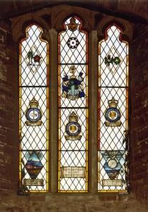 Memorial Window in Goodrich Castle Chapel